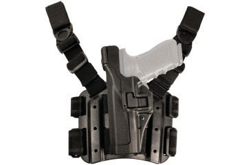 14-Blackhawk SERPA Tactical Level 3 Thigh Holster