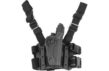 Blackhawk SERPA Tactical Level 3 Thigh Holster, Right Hand, Black - Full Size USP
