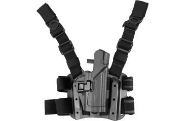 4-Blackhawk SERPA Tactical Level 3 Thigh Holster