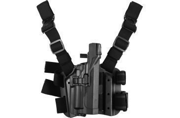 Blackhawk SERPA Tactical Level 3 Holster for Xiphos, Black, Right 430713BKR
