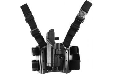 16-Blackhawk SERPA Tactical Level 3 Thigh Holster