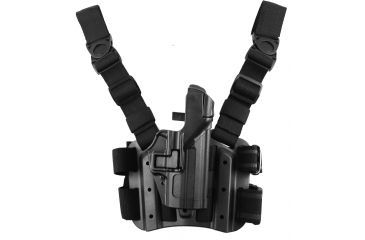 13-Blackhawk SERPA Tactical Level 3 Thigh Holster