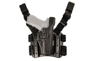2-Blackhawk SERPA Tactical Level 3 Thigh Holster