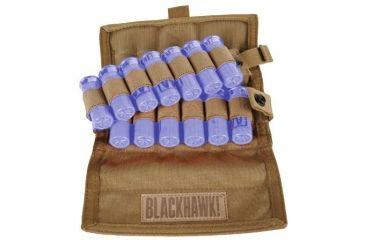 BlackHawk S.T.R.I.K.E. 12 round Vertical Shotgun Ammo Pouch Coyote Tan