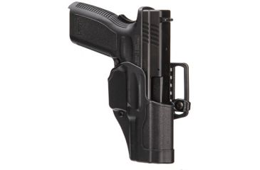 BlackHawk Sportster Std with Belt Loop and Paddle, Right Hand, Matte Black - Glock 21/MP .45/MP 9/40 Pro 415613BK-R