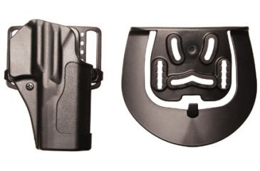 BlackHawk Sportster Std with Belt Loop and Paddle, Right Hand, Matte Black - Glock 29/30/39 415630BK-R