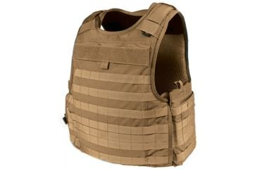 Blackhawk S.T.R.I.K.E. Cutaway Carrier Performance 3D Mesh Lining Armor, Color - Coyote Tan, Size - Large, 32V603CT-CTS
