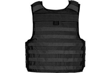 Blackhawk STRIKE Tactical Armor Carrier Vest, Non-Cutaway, Black, Extra Small 32V500BK-CTS