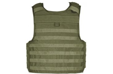 Blackhawk STRIKE Cutaway Carrier Slick Tactical Armor Carrier Vest, Olive Drab, Extra Large 32V404OD-CTS