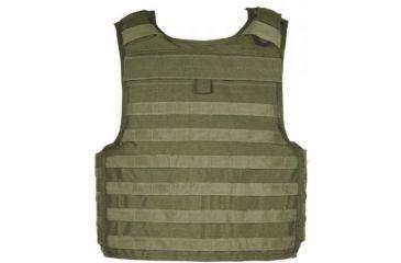 Blackhawk Strike Cutaway Carrier Slick Tactical Armor Carrier Vest Olive Drab Large Made In Usa 32v403od
