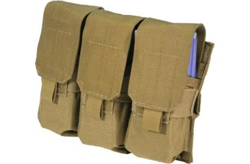 BlackHawk S.T.R.I.K.E. M4/M16 Triple Mag Pouch - Coyote Tan 38CL04CT