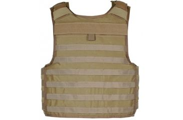 Blackhawk S.T.R.I.K.E. Carrier Cordura Lining Armor, Coyote Tan, Extra Large 32V504CT-CTS