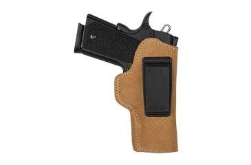 BlackHawk Suede Leather Angle Adjustable ISP Holster for 1911 Commander Left Hand 421807BN-L