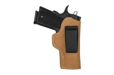 BlackHawk Suede Leather Angle Adjustable ISP Holster for Glock 26/27 & other Subcompact 9/40 Left Hand 421803BN-L