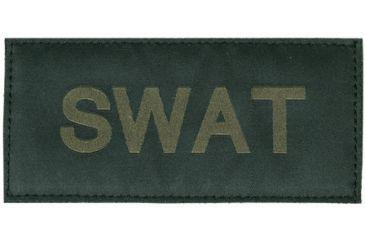 Blackhawk Green on Black 90IN07 SWAT Patch