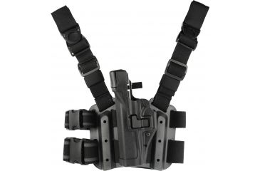 BlackHawk TAC SERPA Level 3 Holster, Left Hand, Black- Glock 21/21