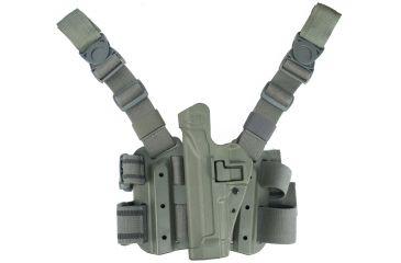 BlackHawk Tactical SERPA Holster - Left Hand, Olive Drab - Sig 220/226/228/229