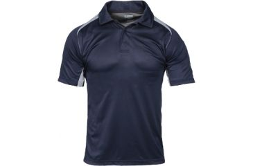 BlackHawk Warrior Wear Short Sleeve Athletic Polo Shirt, Navy, Medium