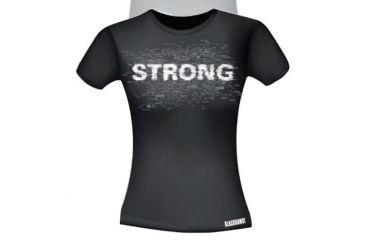 BlackHawk Women's Graphic T-Shirt - STRONG, Black, Small 92GT01BK-SM