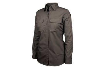 Blackhawk Women's Long Sleeve Tactical Shirt, Black - 2XL 92TS01BK-2XL