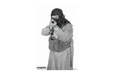 Blackheart Custom Global War On Terror Target Krinkov Gunner Measures 23x35 Inches 100 Pack
