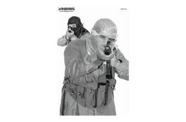 Blackheart Custom Global War On Terror Target Multiple Terrorist Measures 23x35 Inches 100 Pack