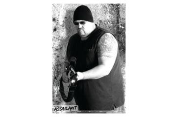Blackheart Ultimate Assailant Targets Shotgun Biker 2 Measures 23x35 Inches 25 Per Pack
