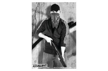 Blackheart Ultimate Assailant Targets Shotgun Punk 2 Measures 23x35 Inches 25 Per Pack