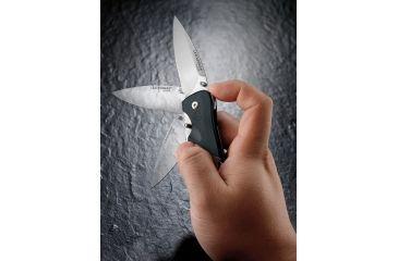 Leatherman Crater c33T Pocket Knife, Straight Blade, Satin Finish - 860211