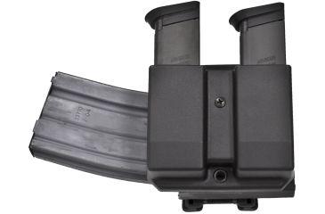 Blade Tech Revolution AR-Mag w/Double Mag Pouch,Generic 9/40 Double Stack,Revolution AR Mag Forward,Tek-Lok AMMX0026ARCMBODABLHTL