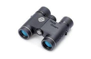 2-Tasco World Class 10x25 Waterproof Binoculars WC1025 + Two FRS 2-Way Radios