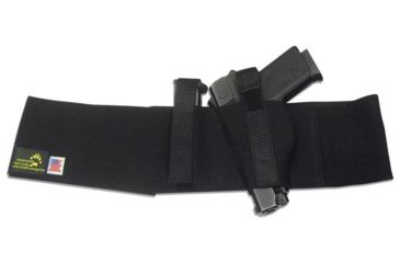 Blue Stone Original Belly Band Holster, Black, Universal, Left Hand, 2XL / 48-52 - B121-005-L