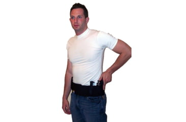 Blue Stone Original Belly Band Holster, Black, Universal, Left Hand, Extra Large / 42-46 - B121-004-L