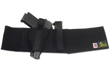 Blue Stone Original Belly Band Holster - Universal, Black