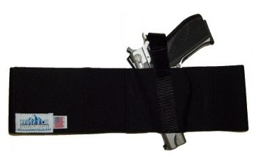 Blue Stone Safety, Basic Belly Band Holster, Black, Medium, LH, B232-002-L