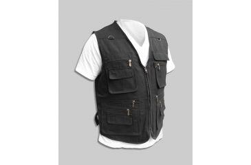 Blue Stone Safety Black Concealment Vest C566-006-0