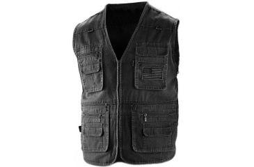 Blue Stone Safety Concealment Vest With Removable Ballistic Panel Medium, Black, Medium C565-BP-BK-002