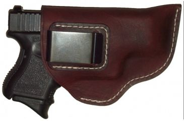 Blue Stone Safety The Investigator Leather Belt Clip Holster Brown/ RugerLCP/ Right Hand, Brown BC27-BRW-RLCP-RH