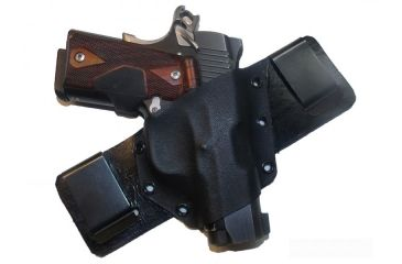 Blue Stone Safety Persuit Holster For Glock 17, 19, And 26, Black, Right Hand KYD-13-GL17-RH