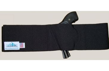 Blue Stone Safety, Pro Belly Band Holster, Black, Large, LH, B250-003-L