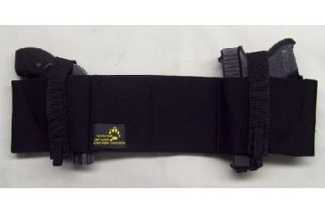 Blue Stone Safety, Western Belly Band Holster, Black, Large, LH, B454-003-L