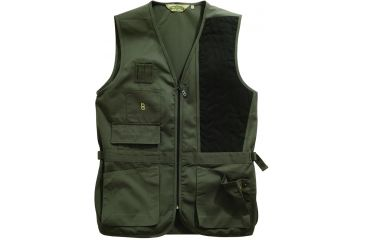 Bob Allen 240S Solid Shooting Vest - Sage, Left Hand, 2XL - 30187