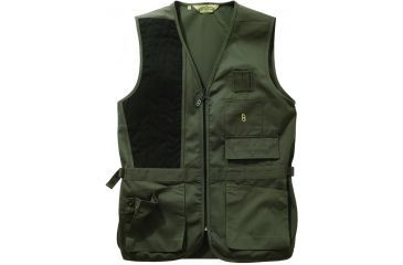 Bob Allen 240S Solid Shooting Vest - Sage, Right Hand, Medium - 30190