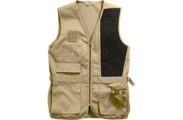 Bob Allen 240S Shooting Vest - Solid KHAKI LH M