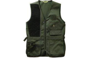 Bob Allen 240S Shooting Vest - Solid SAGE RH L