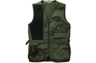 Bob Allen 240S Solid Shooting Vest -  Sage, Right Hand, 3XL - 30194