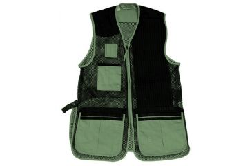 2-Bob Allen 255M Shooting Vest - Full Mesh & Suede