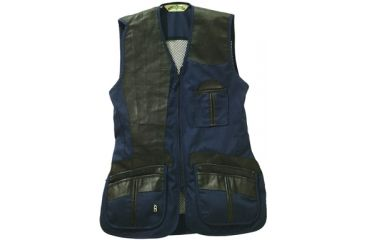 4-Bob Allen 280M Shooting Vest - Mesh Back & Leather