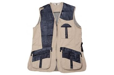 3-Bob Allen 280M Shooting Vest - Mesh Back & Leather