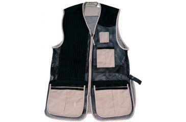 1-Bob Allen 255M Shooting Vest - Full Mesh & Suede